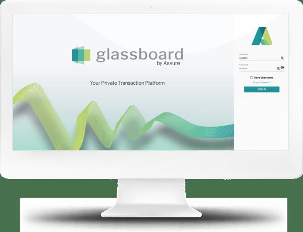 Glassboard Login Screen